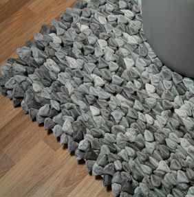 Pebble Cushions & Rugs