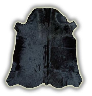 Normandy Leather Cowhide - Black