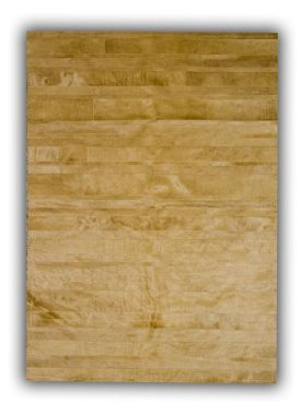 Patchwork Leather Cowhide - ST10 Beige Stripes