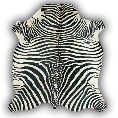 Zeb-Tastic Zebra Rugs - White & Black