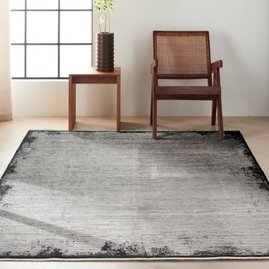 Calvin Klein Balian Rug in Grey Black CK51
