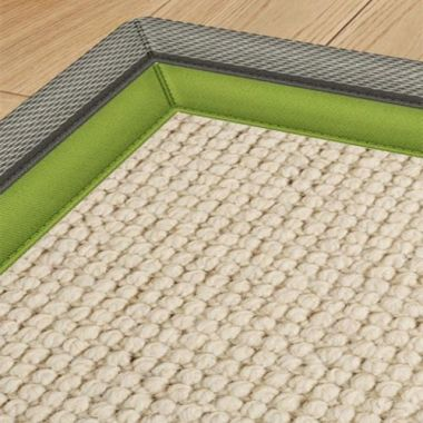 Alternative Flooring Bordered Green