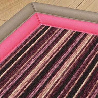 Alternative Flooring Bordered Pink
