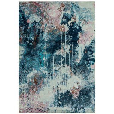 Amelie AM07 Moonlight Blue/Multi Rugs