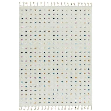 Ariana AR02 Dotty White/Multi Rugs