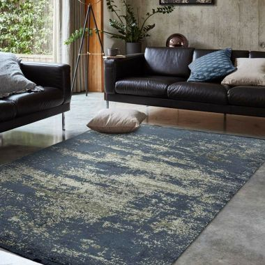 Athera AT02 Sapphire Abstract Rugs