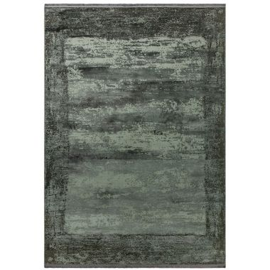 Athera AT03 Anthracite Border Rugs
