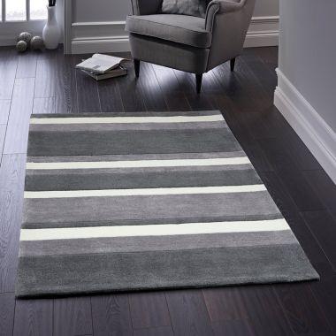 Boston Stripe in Grey