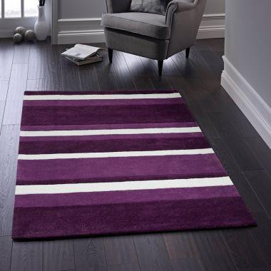 Boston Stripe in Purple