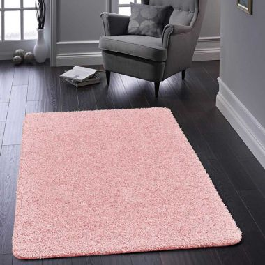 Buddy Washable Rugs - Soft Pink