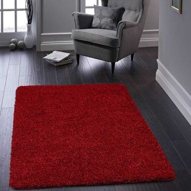 Buddy Washable Rugs - Red