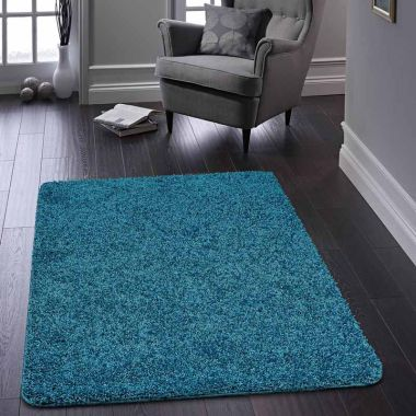 Buddy Washable Rugs - Teal