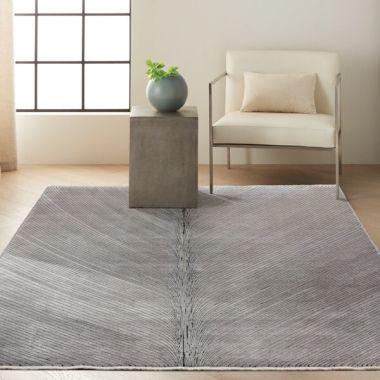 Calvin Klein Balian Rug in Silver Grey CK50