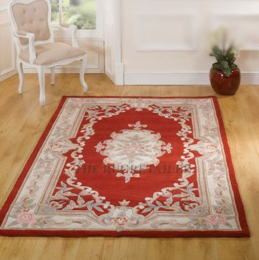 Chinese - Aubusson Red