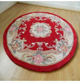 Chinese Round - Red