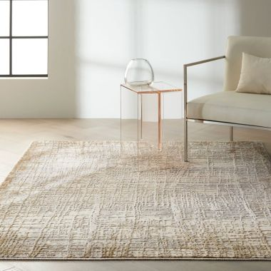 Calvin Klein Rush Rugs in Ivory / Taupe CK950