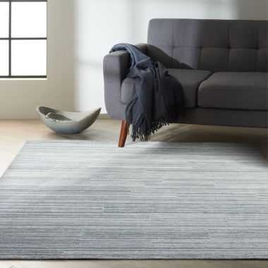 Calvin Klein Abyss Rugs in Blue CK990