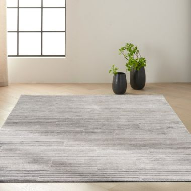 Calvin Klein Abyss Rugs in Silver / Grey CK990