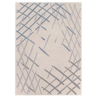Claire Gaudion - Sand Sketch Rug in Ecru