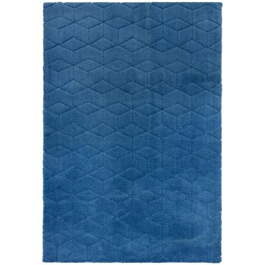 Cozy rugs in Navy
