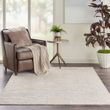 Divine Rugs in Sand by Nourison DIV08