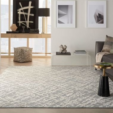 Divine Rugs in Sand Storm by Nourison DIV10