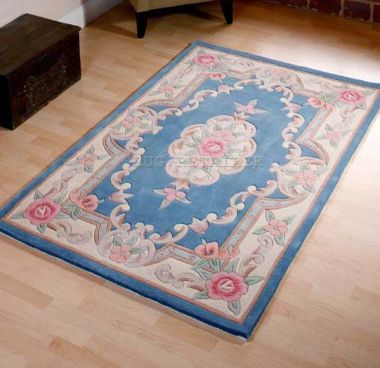 Chinese - Aubusson Light Blue