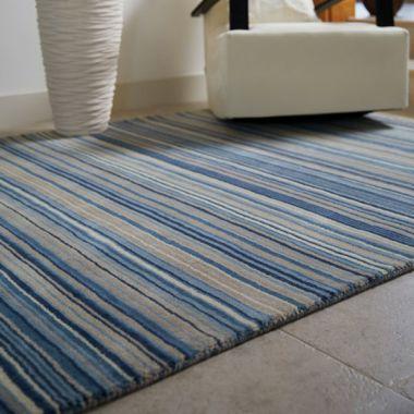 Fine Stripes - Blue
