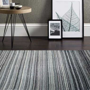 Fine Stripes - Grey