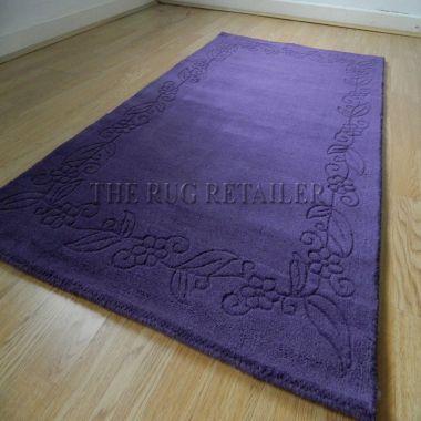 Floral Border - Purple