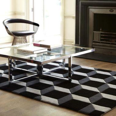 Geometric Black / Silver - Geo04
