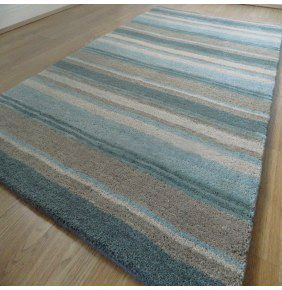 Handloom Multi Stripe - Aqua