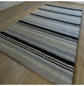 Handloom Multi Stripe - Black