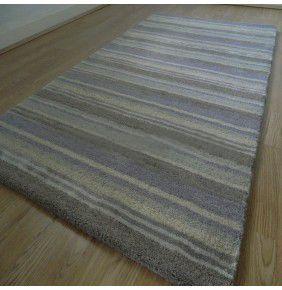 Handloom Multi Stripe - Lavender