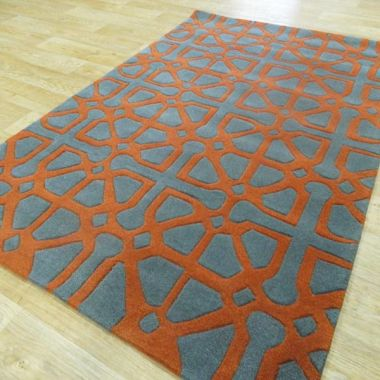 Harlequin - HA14 - 5A Grey & Orange