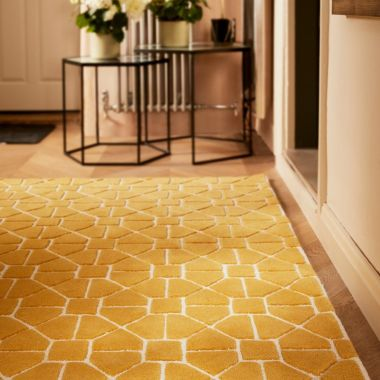 Harmony Geometric  - Ochre Yellow