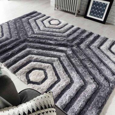 Verge Hexagon in Grey