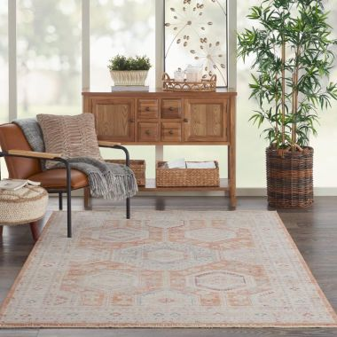 Homestead Rugs in Brick by Nourison HMS01