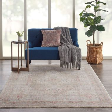 Homestead Rugs in Beige / Grey by Nourison HMS03
