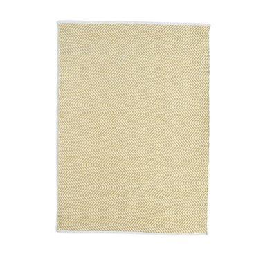 Hug Rug Woven Herringbone - Gold