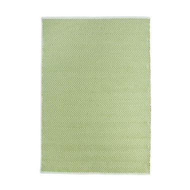 Hug Rug Woven Herringbone - Green