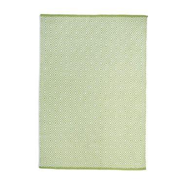 Hug Rug Woven Diamond - Green