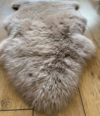 Pure Sheepskin New Wool - Vole