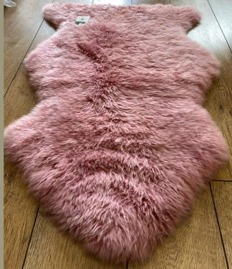 Pure Sheepskin New Wool - Pink