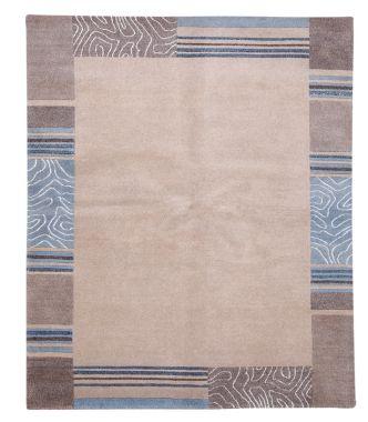Impression 39518 Beige & Blue