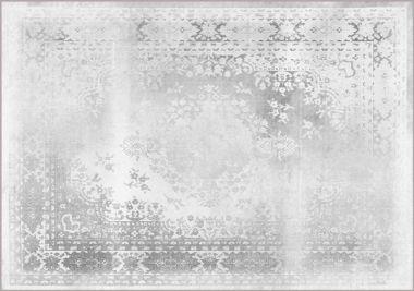 Mineheart - Kashan Remix Landscape Rug in White