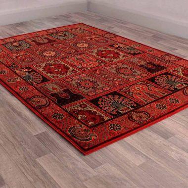 Keshan Heritage Bohara - Red
