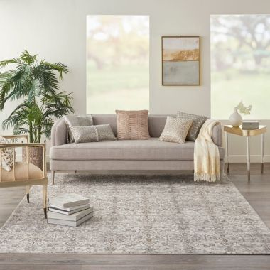 Kathy Ireland Royal Terrace Rugs in Beige KI43