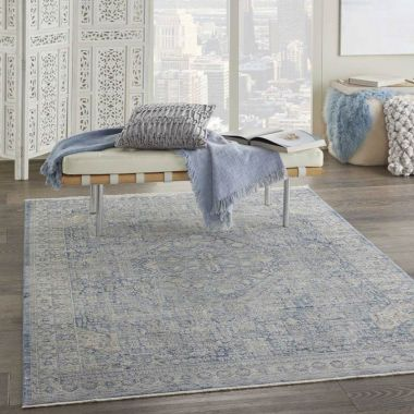 Lustrous Weave - LUW02 Ivory Blue