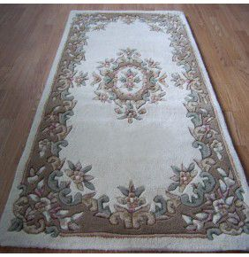 Mahal Aubusson - Cream Beige